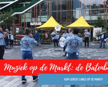 Volop te doen op de Markt in Nieuwegein! Kom je ook zaterdag?